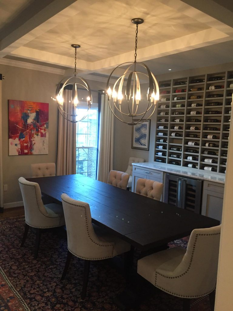 Full dining room remodel