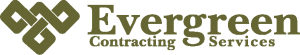 Evergreen Contracting Services Logo Full