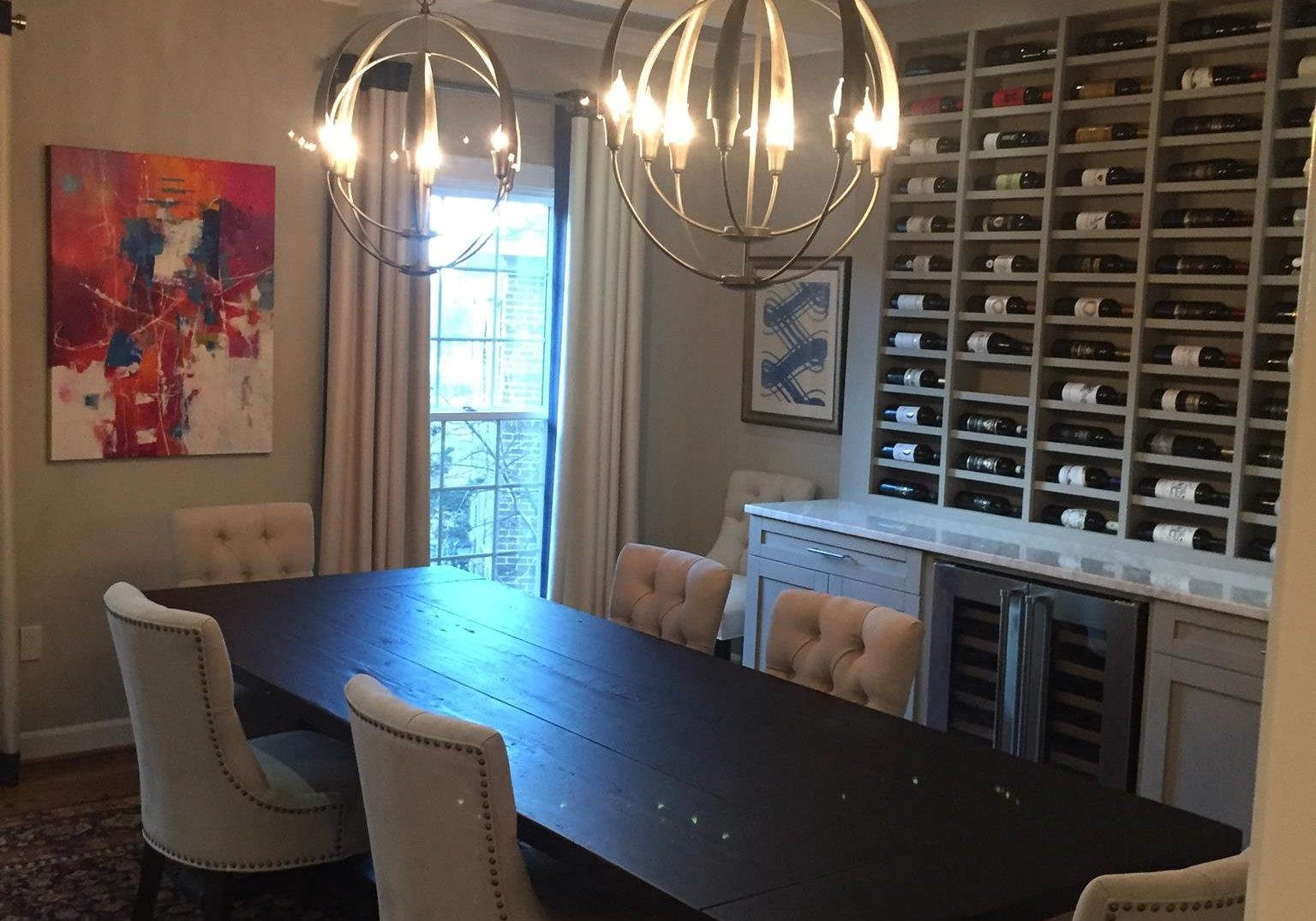 Full dining room remodel